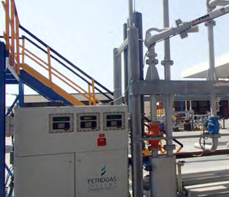 Loading Skid for Refined Products